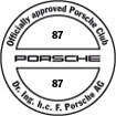 Officially approved Porsche Club 87